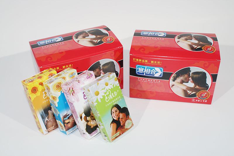避孕套中盒大盒